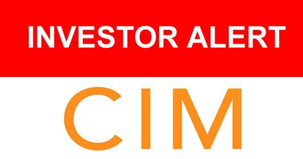 Cole Credit Property Trust IV – CIM Group – Losses Investigation