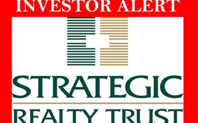 Strategic Realty Trust Price DOWN Over 50%?