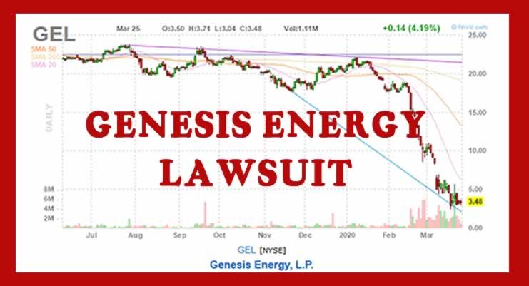 Genesis Energy Lawsuit