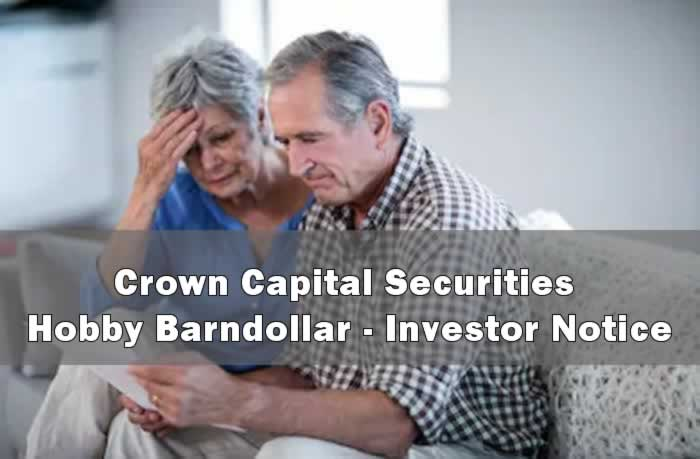 Crown Capital Securities - Hobby Barndollar
