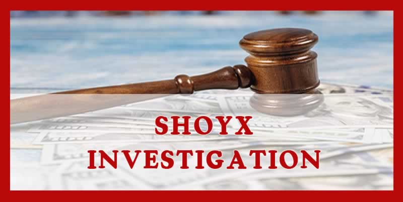 SHOYX lawsuit investigation