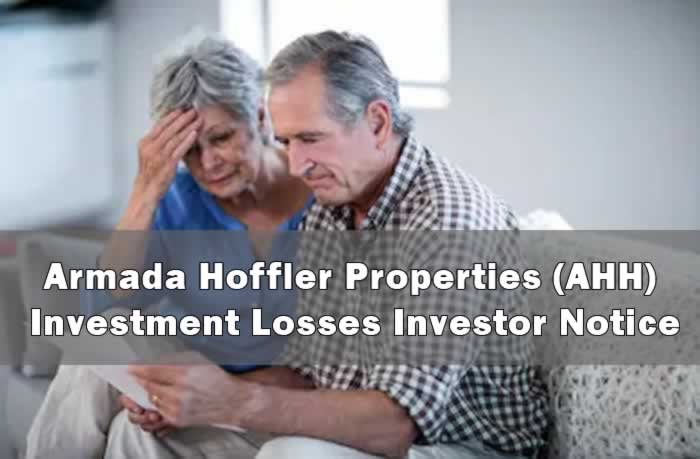 Armada Hoffler Properties (AHH) Investment Losses