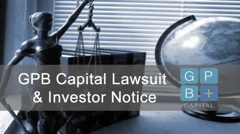 GPB Capital Lawsuit