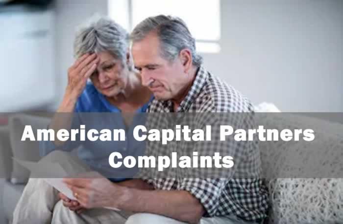 American Capital Partners Complaints