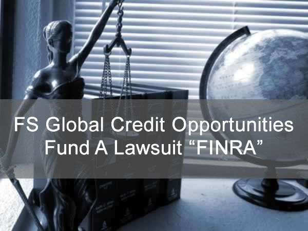 FS Global Credit Opportunities Fund A - Lawsuit