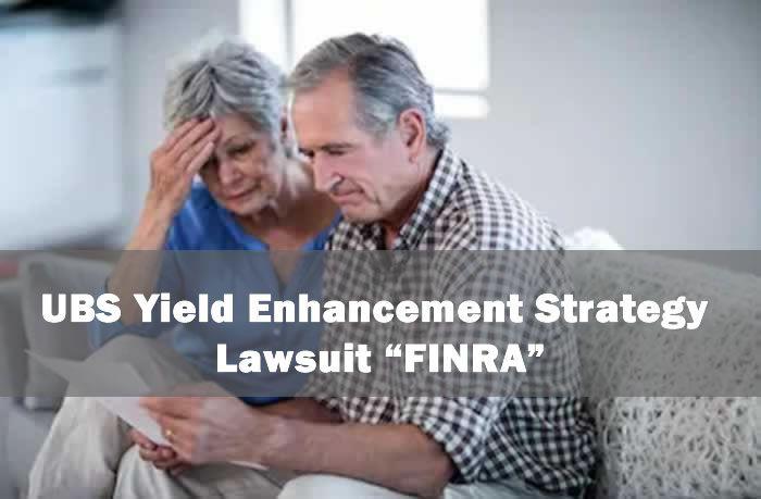 "UBS Yield Enhancement Strategy Lawsuit ""FINRA"": Jose Cornide Complaint"