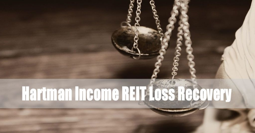 Hartman Income REIT Loss Recovery